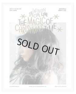 画像1: TAEYEON SPECIAL LIVE [The Magic of Christmas Time]